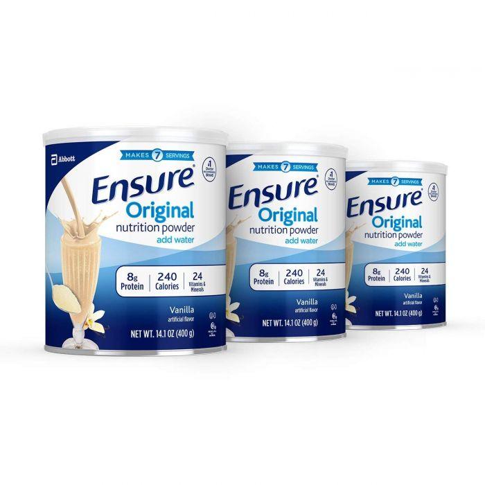 Sữa Ensure Original Nutrition Powder Mẫu Mới