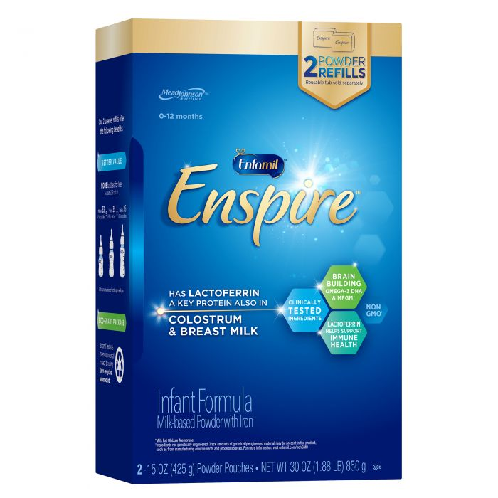Sữa Enfamil Enspire Infant Formula Non - GMO Dành Cho Trẻ Từ 0 - 12 tháng
