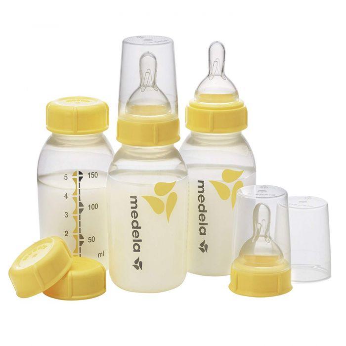 Medela Breast Milk Bottle Set, 5 oz - 3-Pack SLOW 150ML